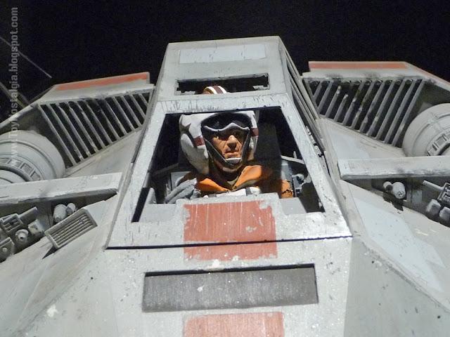 "Modelo en miniatura - Snow Speeder, detalle cockpit  ""Episodio V - The Empire Strikes Back""  (STAR WARS - The Exhibition)"
