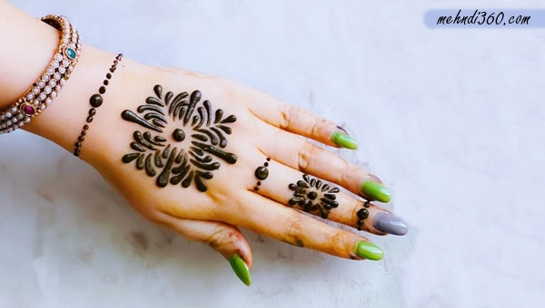 99+ Arabic Mehndi Designs for Front & Back Hand