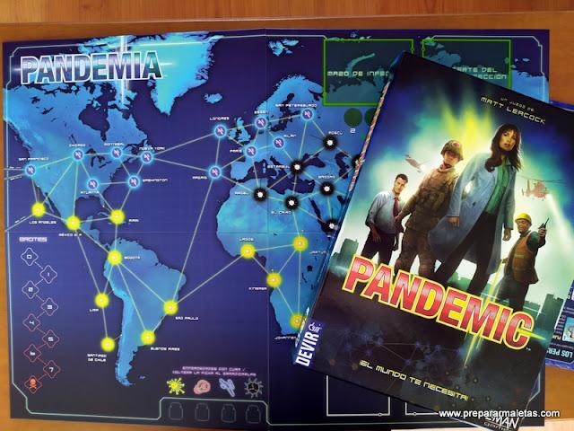 juego de mesa Pandemia
