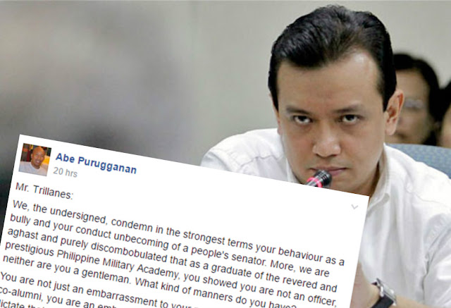 PMA alumni condemn Trillanes through open letter