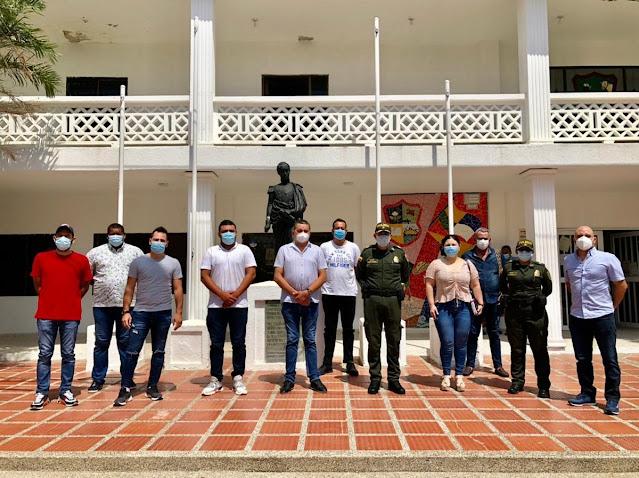 Ley seca y toque de queda en Juan de Acosta
