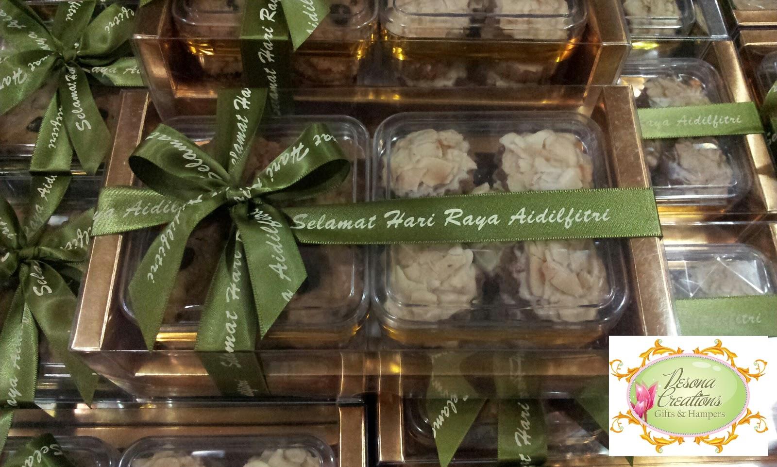 Pesona Creations Gifts & Hampers: Hamper Biskut Raya