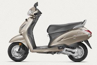 Honda Activa 4g Silver Color