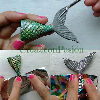 DIY-colgantes-cola-de-sirena-pasta-flexible-nacarada-crea2-con-pasión-foil