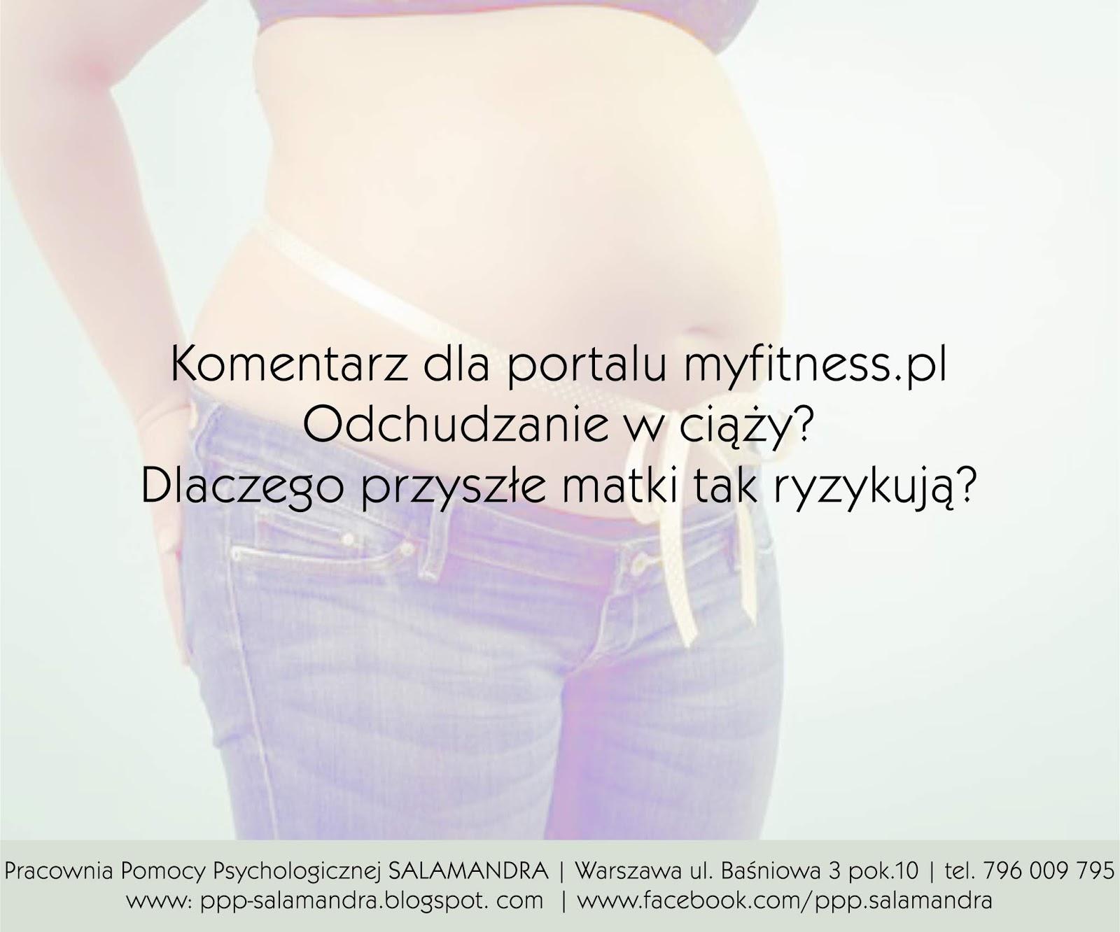 Dobry psycholog Warszawa na temat odchudzania w ciąży