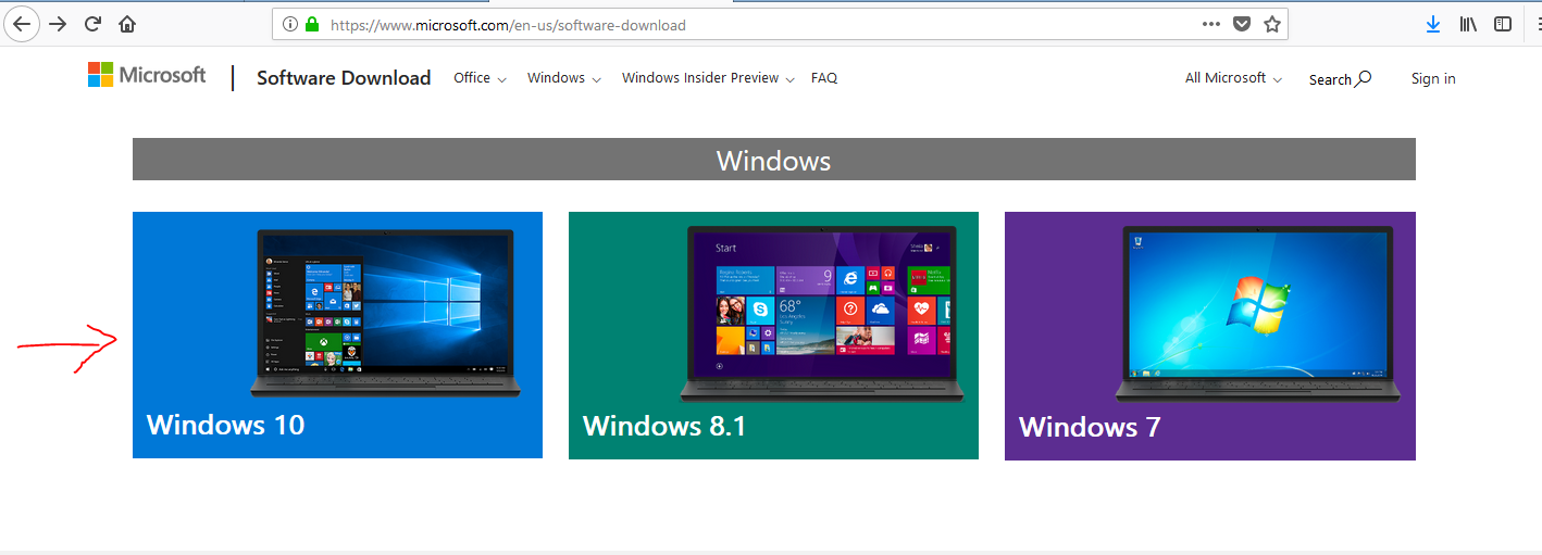 how to upgrade windows 8.1 to windows 10 in laptop