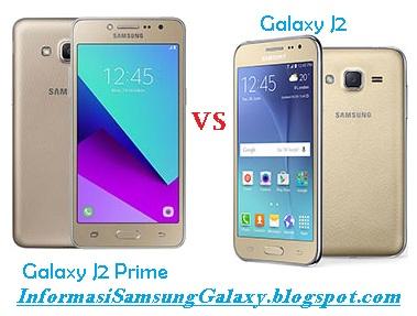 Harga dan Spesifikasi Samsung Galaxy J2 Prime vs J2