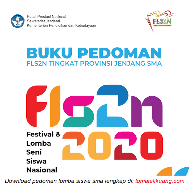 Buku Pedoman FLS2N SMA Tahun 2020 Tingkat Provinsi PDF tomatalikuang.com