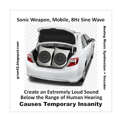Sonic Weapon Built into the Trunk of a Car - Two 18 Inch Woofers - gvan42 - meme