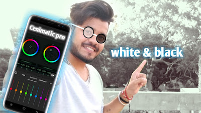 How to make color grading video in android