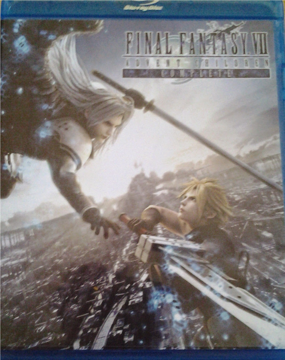 DVD Cover - Final Fantasy Advents Children