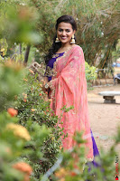 Actress Shraddha Srinath in Purple Chania Choli Cute Pics ~  Exclusive 29.jpg