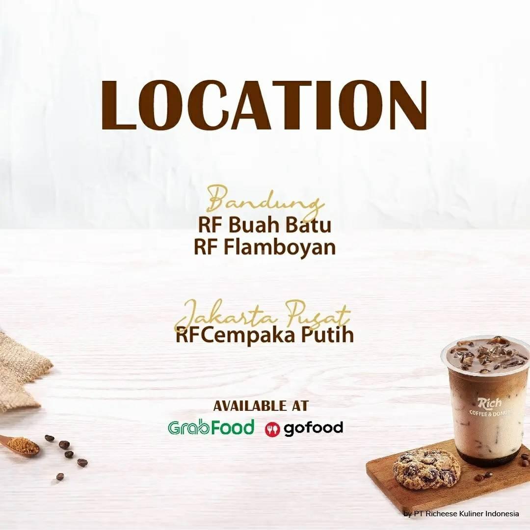 Richeese Factory Promo Rich Coffee & Donut Beli 1 Gratis 1 2