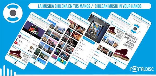 Portaldisc App: debuta aplicación para escuchar sólo música chilena