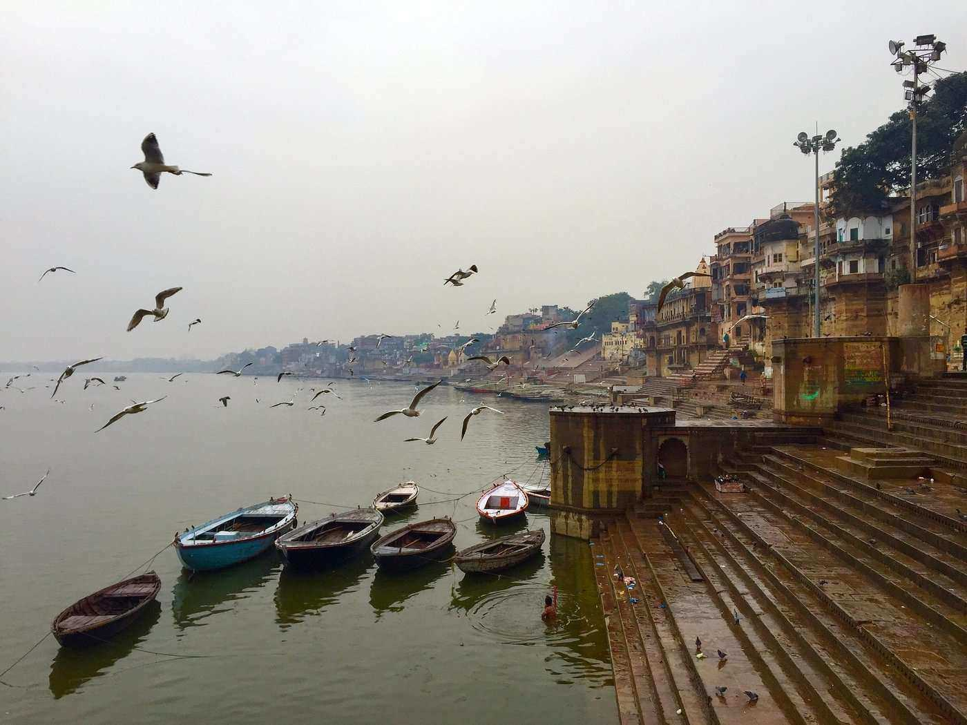 varanasi - 8 safest cities in india to travel