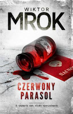 Czerwony parasol- Wiktor Mrok