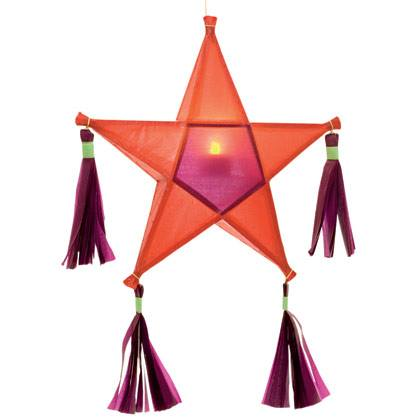 Making a Star Lantern