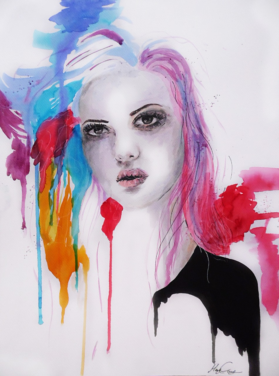 13-Andrea-Wéber-aka-Mandy-Candy-Paintings-A-Mirror-to-the-Artist-s-Emotions-www-designstack-co