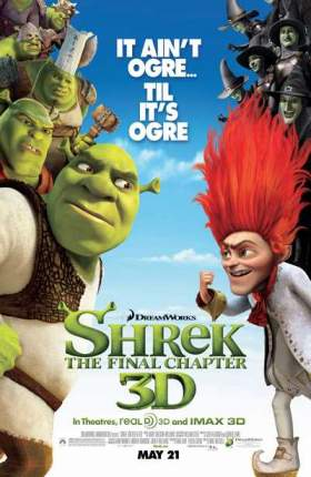 Shrek Forever After 2010 Dual Audio Hindi 300MB BluRay 480p