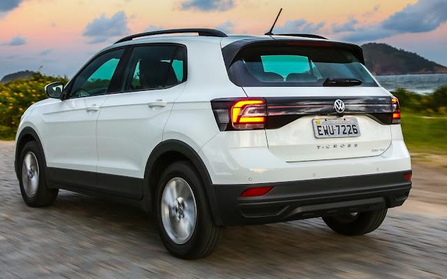 Volkswagen T-Cross 200 TSI Manual - versão de R$ 84.990 reais