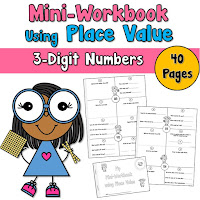 Mini Workbook 3 Digit Place Value