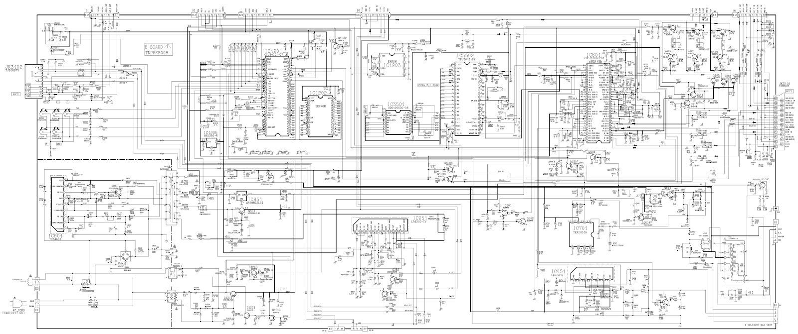 Master Electronics Repair !: PANASONIC TX-28LD2P
