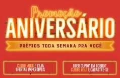 Promoção Natural da Terra Aniversário 2019 - Participar, Prêmios