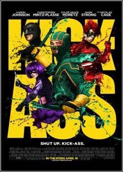 Download Filme Kick Ass: Quebrando Tudo DVDRip AVI Dual Áudio