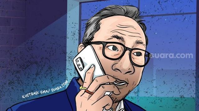 Telepon Sebelum PAN Gabung Koalisi Jokowi, PKS - Demokrat Kini Jadi Oposisi Terserak