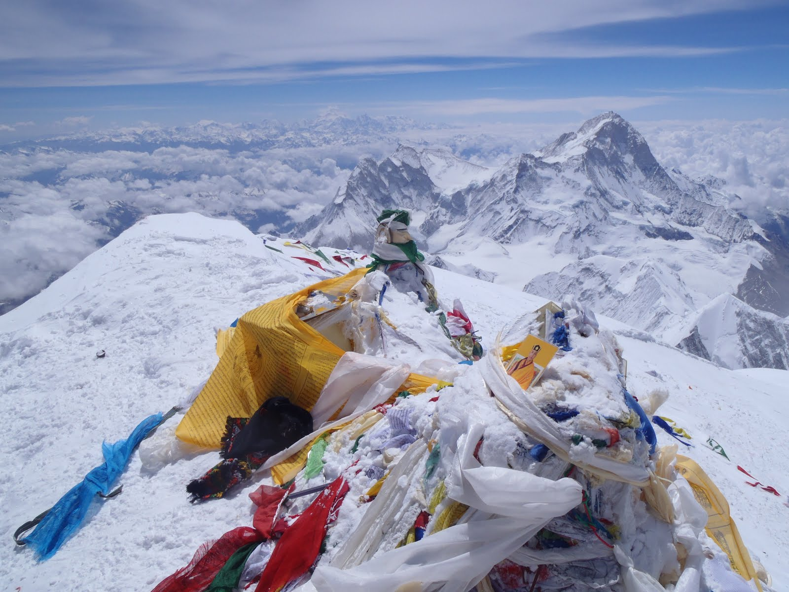 Mount Everest Summit Flags | www.pixshark.com - Images ...