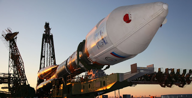 A Soyuz-2.1b carrier rocket (archive photo). Credit: AFP PHOTO-/AFP/Getty Images