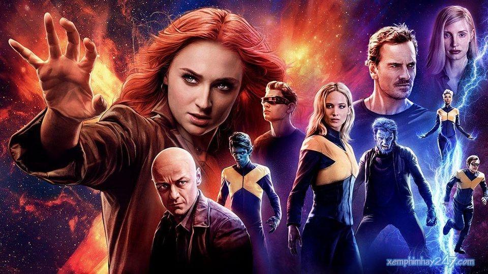 http://xemphimhay247.com - Xem phim hay 247 - Dị Nhân 8: Phượng Hoàng Bóng Tối (2019) - X-men 8: Dark Phoenix (2019)