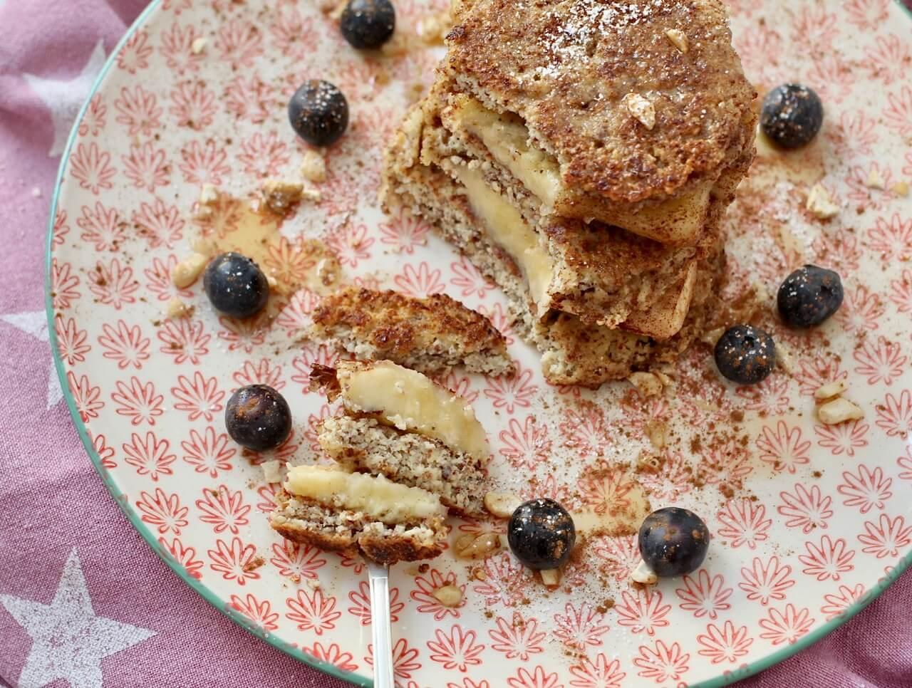 Rezept Mandelpancakes