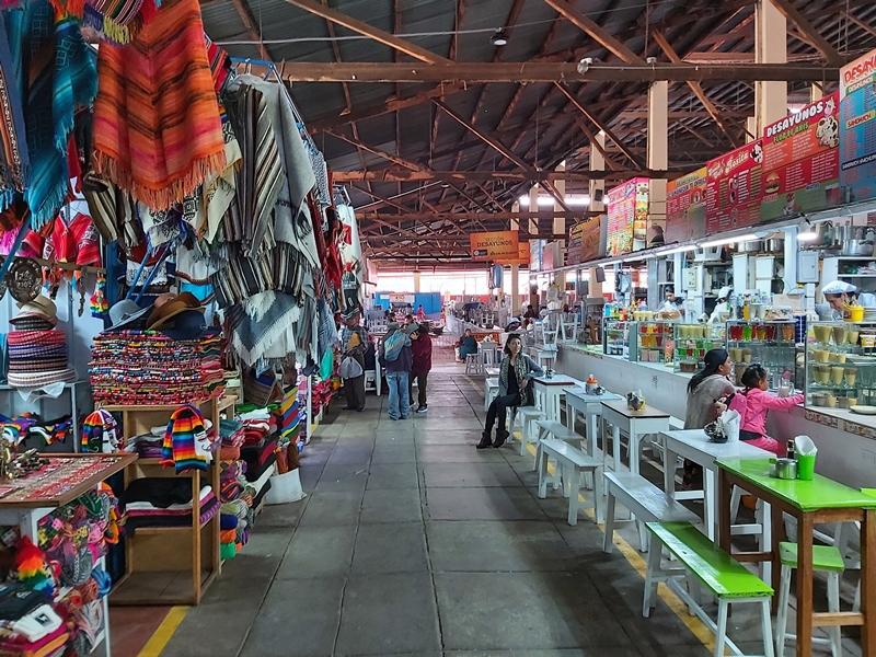 Mercado Central de San Pedro, Cusco