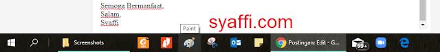 24. Aplikasi pada Taskbar di Windows 10 syaffi com