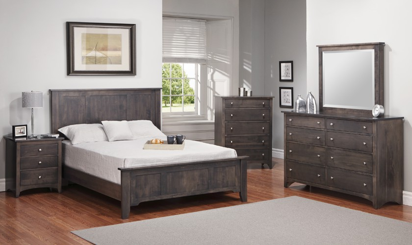 Solid wood bedroom furniture canada furniture design for Gray bedroom furniture sets