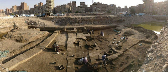 Ptolemaic bread ovens discovered in Egypt's Heliopolis