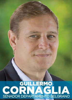 GUILLERMO CORNAGLIA - SENADOR  2020 - DPTO. BELGRANO