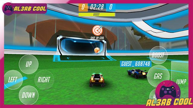 تحميل لعبة روكيت ليق Rocket League  للاندرويد من الميديا فاير