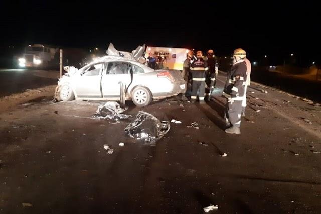 Tragédia no trânsito- Seis pessoas morrem em acidente na BR 040! Confira