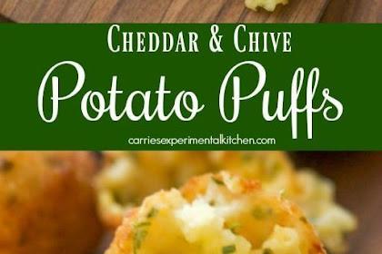 Cheddar & Chive Potato Puffs