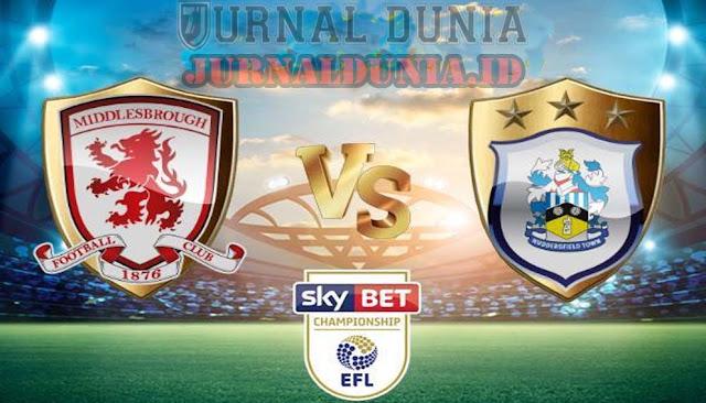 Prediksi Middlesbrough vs Huddersfield Town , Rabu 17 Februari 2021 Pukul 02.45 WIB