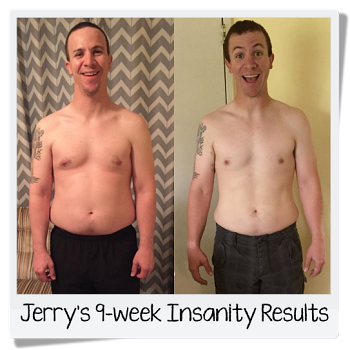Jerry's Insanity results