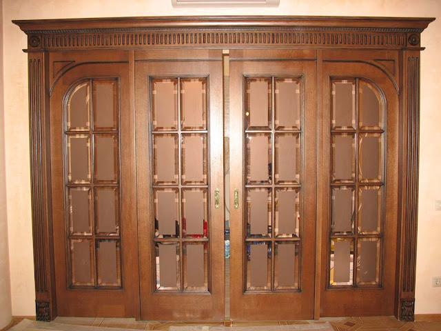 cửa gỗ sồi- mẫu 4