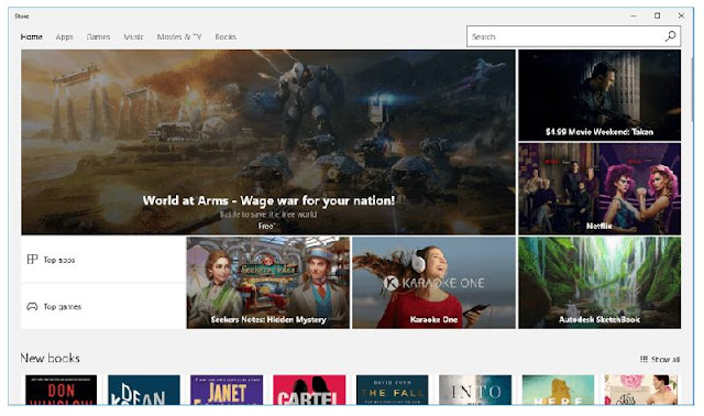 Windows Store screenshot
