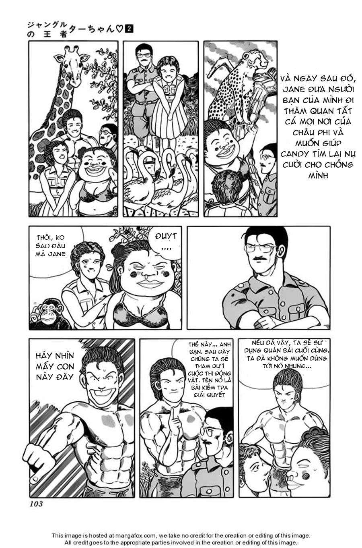 Chúa rừng Ta-chan chapter 29 trang 8