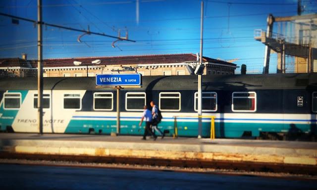 Estação de trem em Veneza