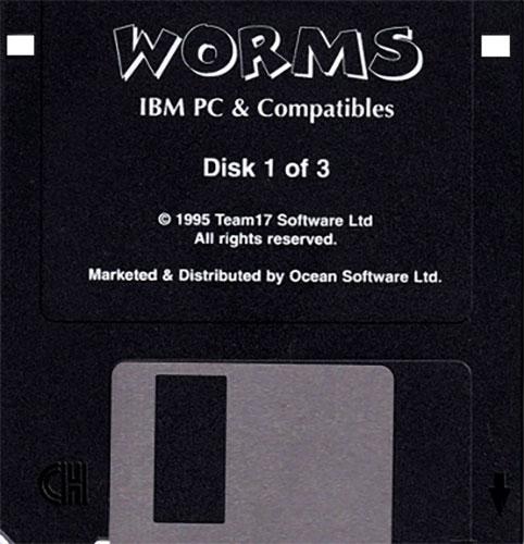 Worms IBM PC Disco 1