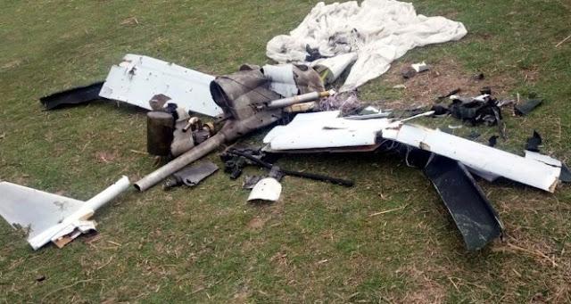 Drone jenis X-55 milik Azerbaijan ditembak jatuh militer Armenia