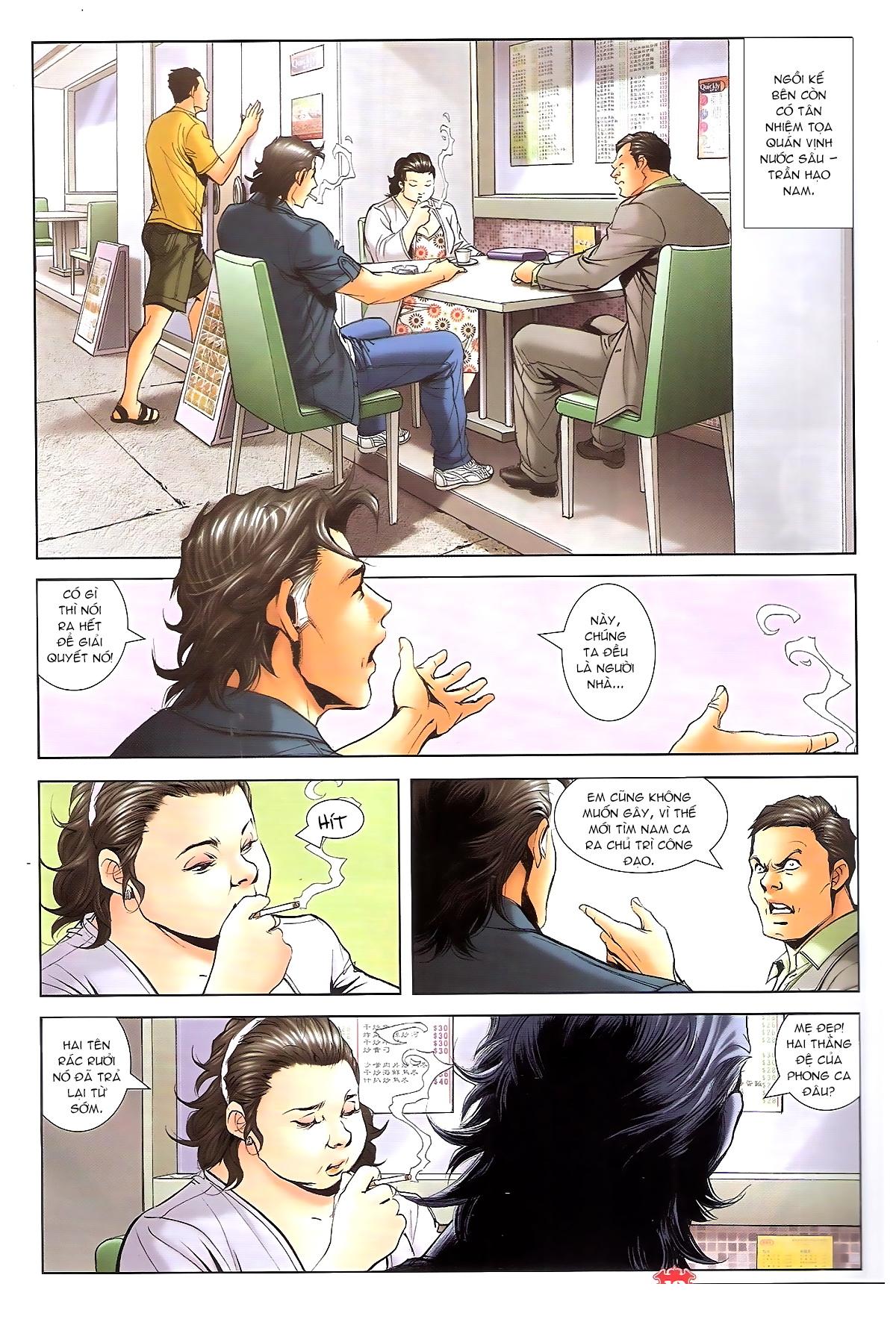 Người Trong Giang Hồ chapter 1648: tự tìm đường chết trang 8